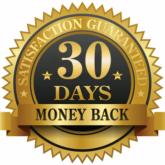 30 days money back seal