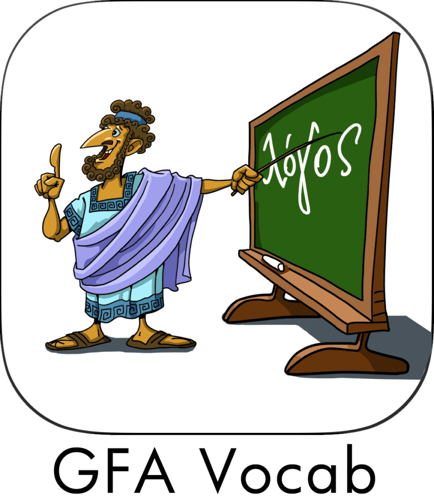Greek for all app icon